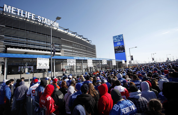 Metlife Stadium Giants Fans