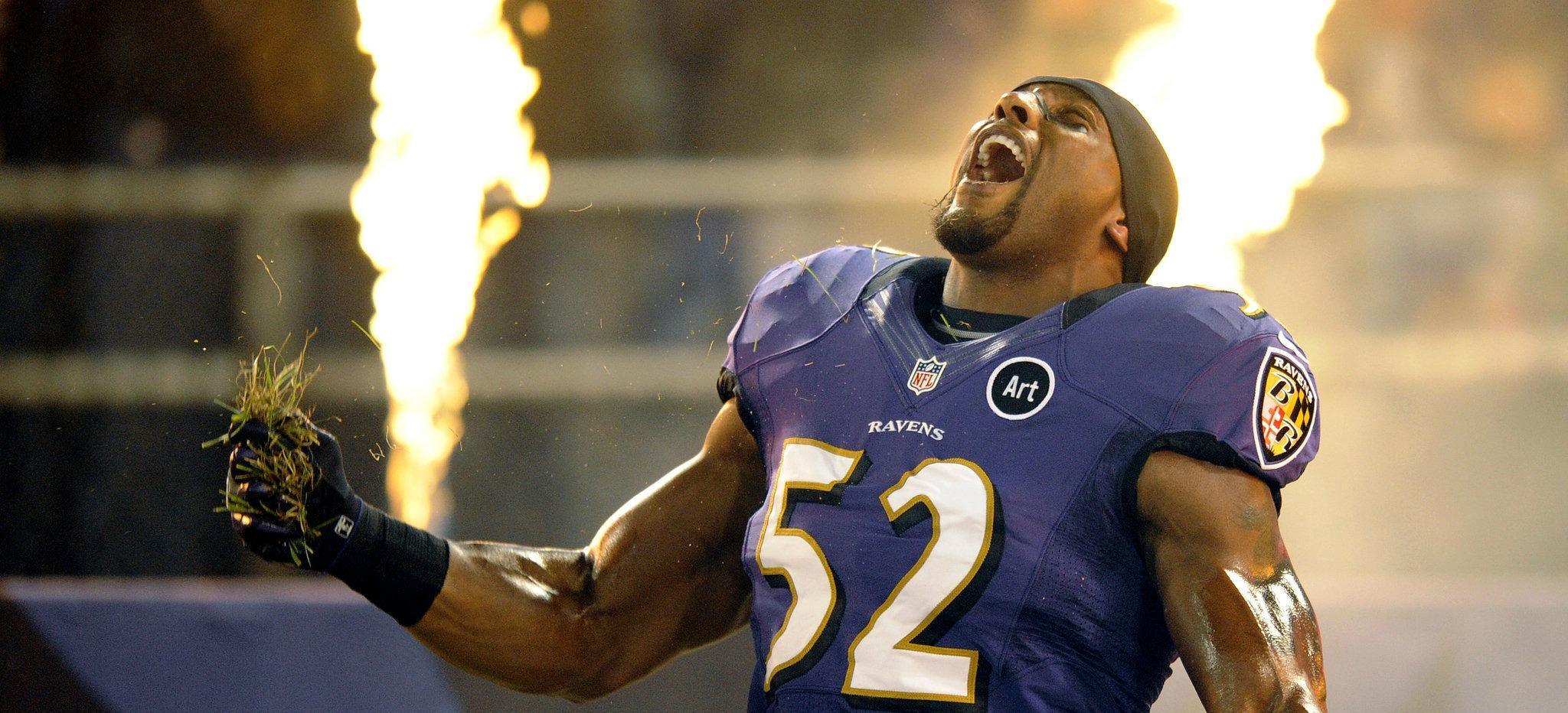 NFL Ray Lewis Baltimore Ravens
