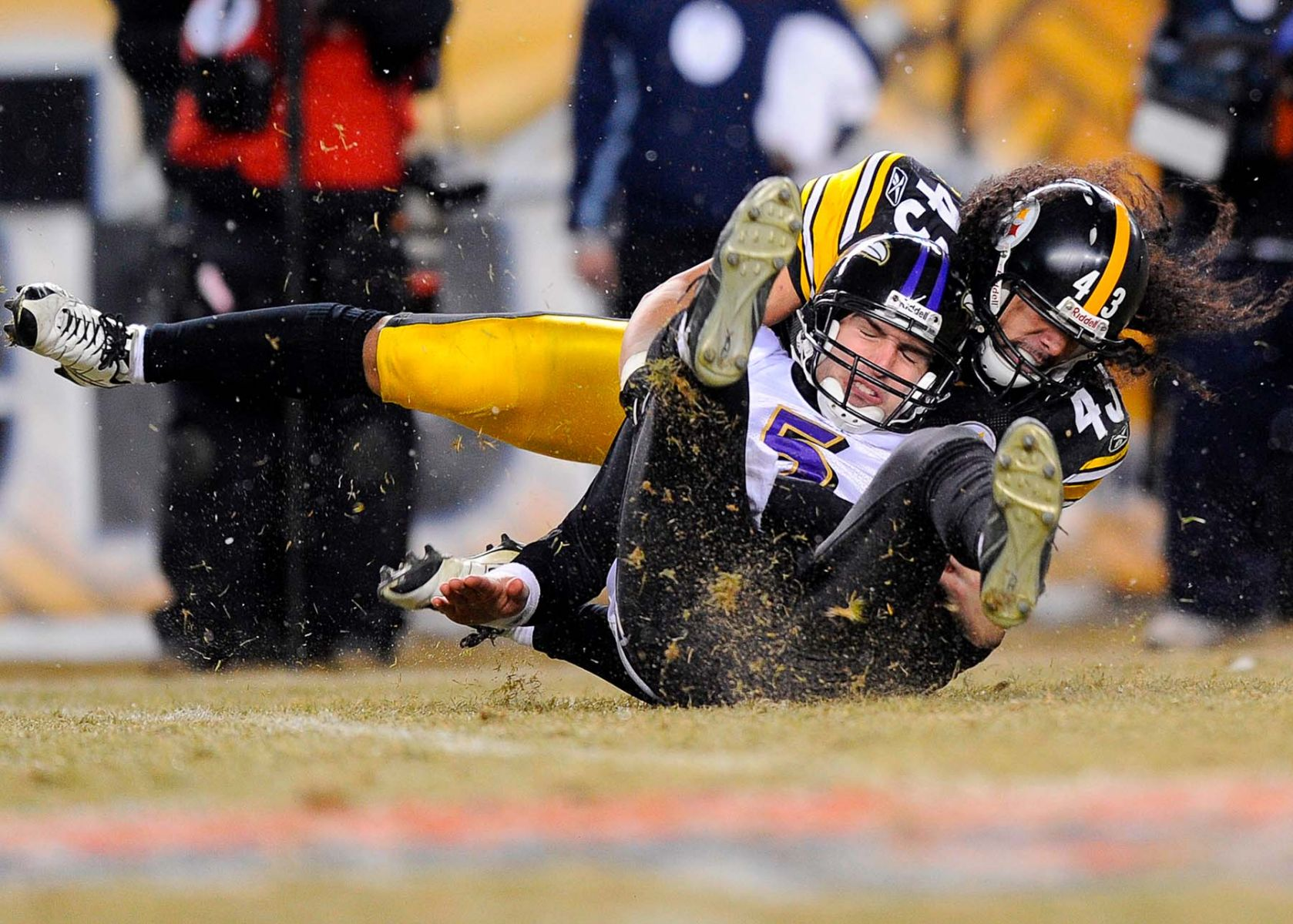 NFL - Baltimore Ravens v Pittsburgh Steelers