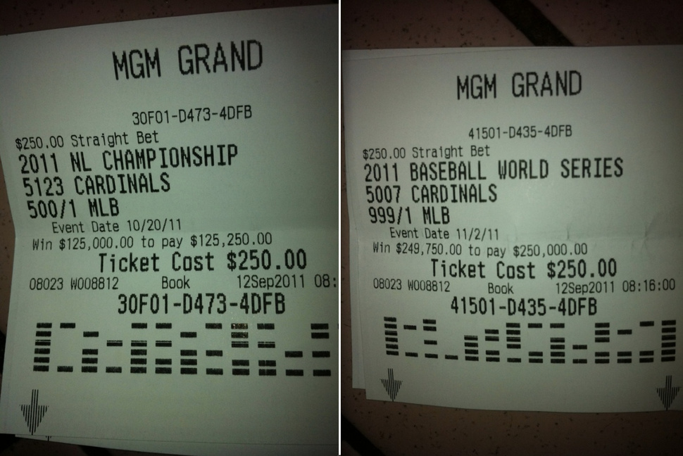 Biggest Sports Bet Wins