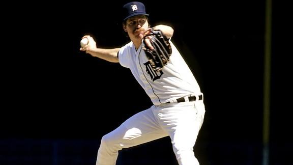 Jack Morris, MLB, Detroit Tigers