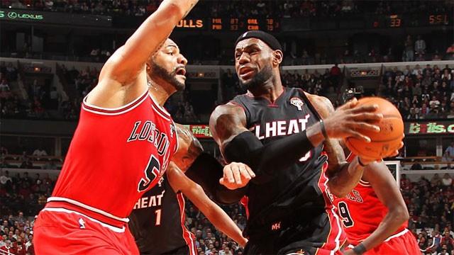 Chicago Bulls vs Miami Heat 2013