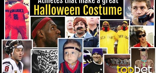Top 12 Athlete Halloween Costume Ideas