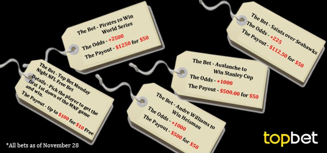 Best Cyber Monday Sports Betting Deals for 2013