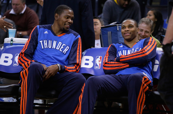 Kevin Durant And Russell Westbrook Best Friends With your friends and tell