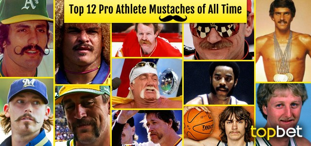 Best Mustaches in Sports – The All Time Top 12