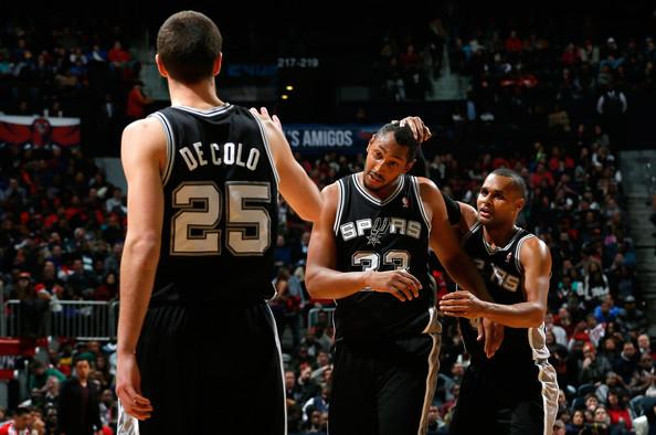 Patty Mills, Boris Diaw, San Antonio Spurs, NBA