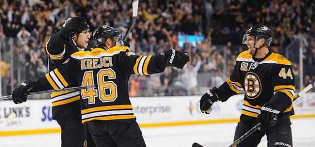 Boston Bruins vs. Detroit Red Wings – NHL Betting Preview April 2, 2014