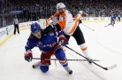 Andrew MacDonald, Carl Hagelin, New York Rangers, Philadelphia Flyers, NHL
