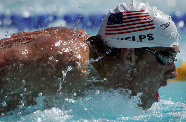 Michael Phelps, Swimming, Olympics