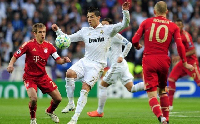 Image result for bayern munich vs real madrid 2014