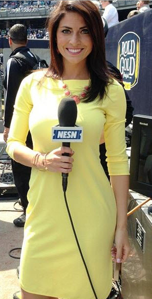 Reporters nesn women Red Sox