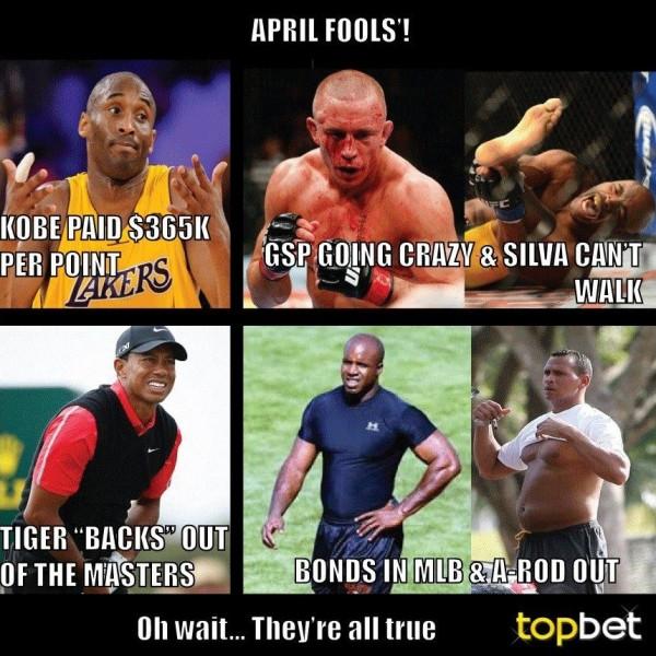 Topbet April Fools