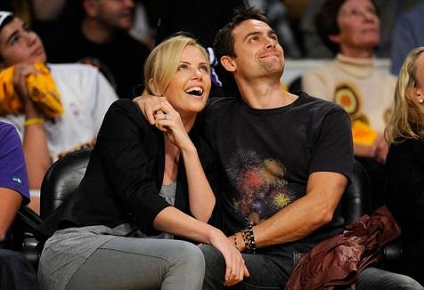 Charlize-Theron-LA-Lakers