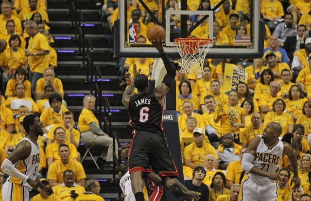miami heat vs indiana pacers � 2014 series and game 1