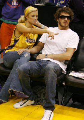 Paris Hilton, LA Lakers