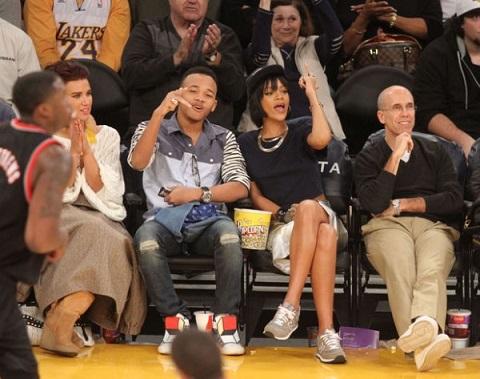 Rihanna-NBA