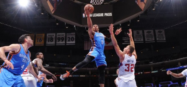 Oklahoma City Thunder vs. Los Angeles Clippers – NBA Playoffs Round 2, Game 5, May 13, 2014 – Betting Preview and Prediction