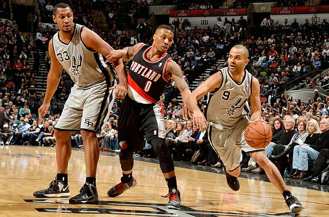 Portland Trail Blazers vs. San Antonio Spurs - Game 2 ...