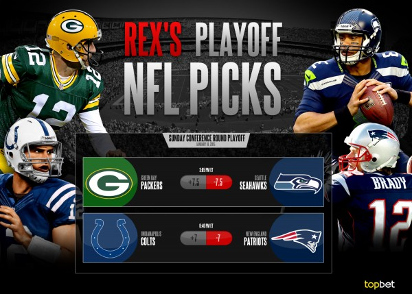 Complete NFL Playoffs Conference Round Predictions and Picks 4073a19f7