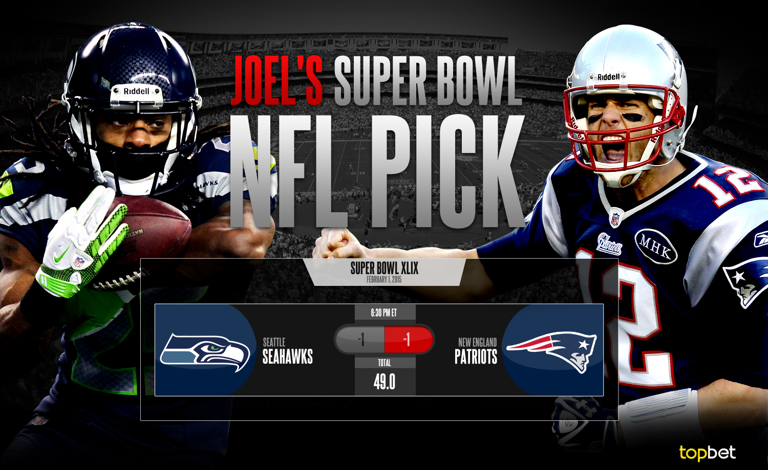 Seattle Seahawks vs New England Patriots 2015 Super Bowl ...