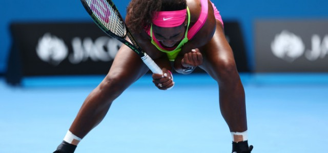Serena Williams vs. Madison Keys – 2015 Australian Open Women's Singles Semifinal – Prediction and Betting Preview – January 29, 2015