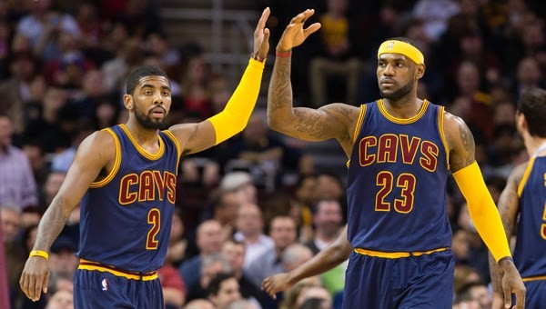 LeBron+James+Kyrie+Irving+Cavaliers