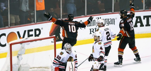 Anaheim Ducks vs. Chicago Blackhawks Predictions, Picks and Preview – 2015 Stanley Cup Playoffs, Western Conference Final Game 3 – May 21, 2015