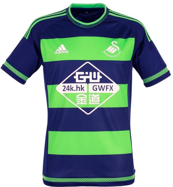 buy popular 13f18 c133d Best New English Premier League Kits: New EPL Uniforms 2015 ...