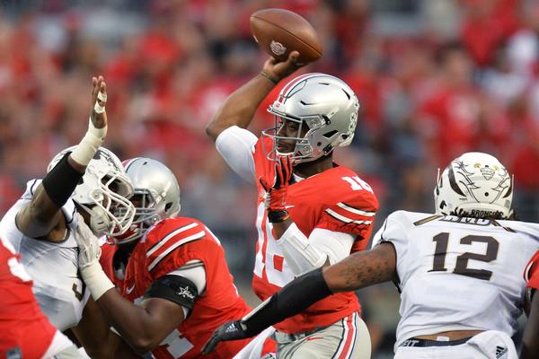 Ohio state quarterback gambling