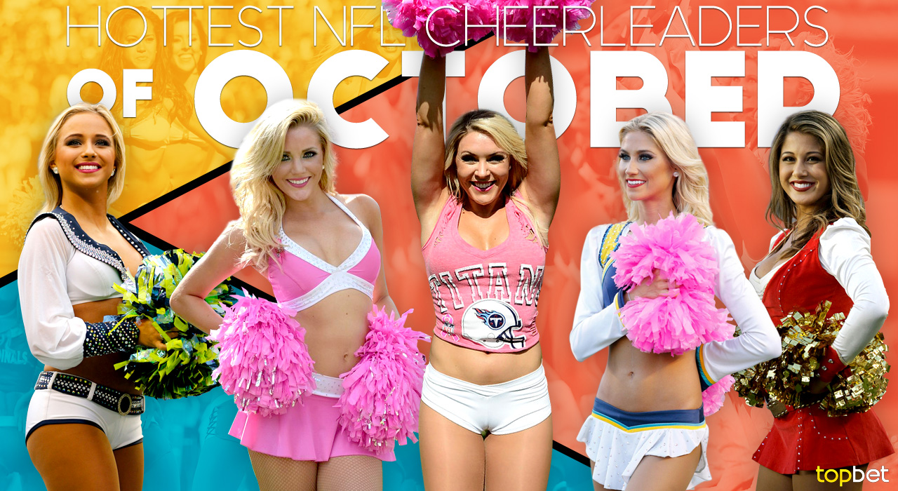Breasts of cheerleaders Biggest nfl