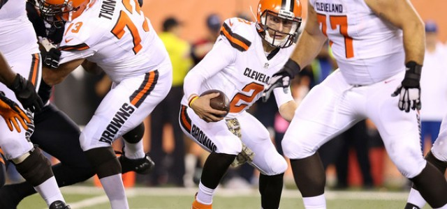 browns steelers spread nfl footbal lines