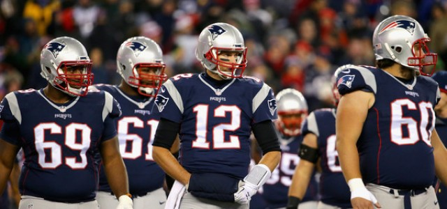 nfl odds pick patriots and broncos game score