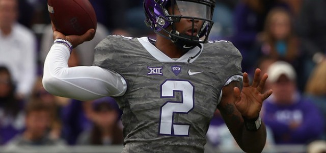 TCU Horned Frogs vs. Oklahoma Sooners Predictions, Picks, Odds, and NCAA Football Betting Preview – November 21, 2015
