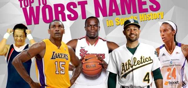 Top 10 Dumbest, Weirdest and Worst Names in Sports History