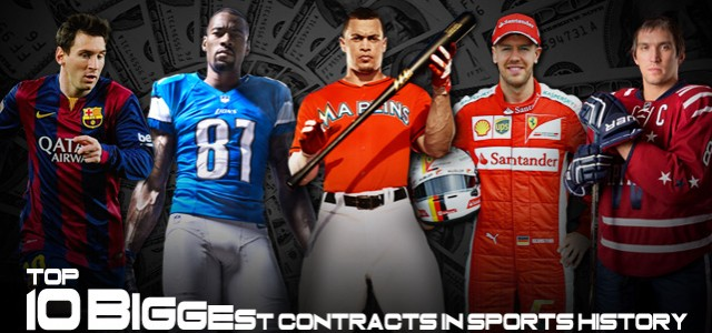 Top 10 Biggest Contracts in Sports History