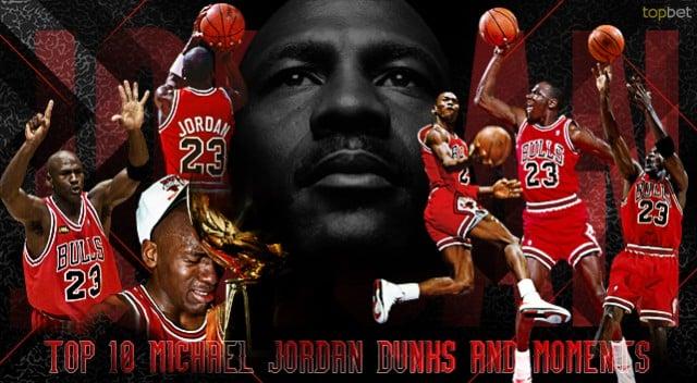 Top 10 Michael Jordan Dunks and Moments