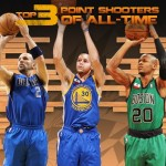 Top 10 NBA 3-Point Shooters of All-Time