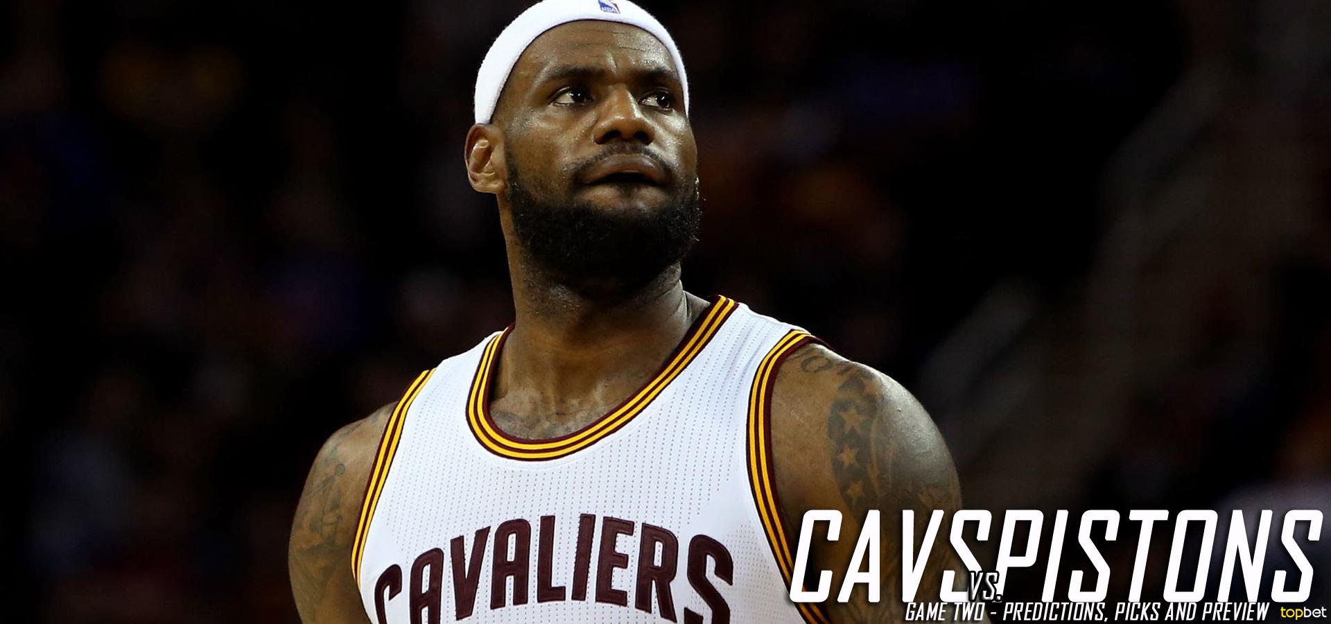 22aacff33c0 Cleveland Cavaliers vs. Detroit Pistons Predictions