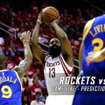 Houston Rockets vs. Golden State Warriors Predictions, Picks and Preview – 2016 NBA Playoffs – Western Conference First Round Game Five – April 27, 2016