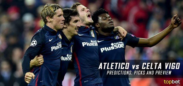 Spanish La Liga Atletico Madrid vs. Celta Vigo Predictions, Odds, Picks and  Betting