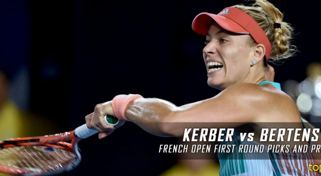 Angelique Kerber vs. Kiki Bertens Prediction and Preview – 2016 French Open First Round