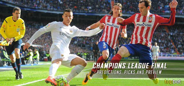 UEFA Champions League Final – Real Madrid vs. Atletico Madrid Predictions,  Picks, and