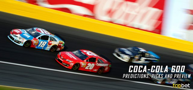 Coca-Cola 600 Predictions, Picks, Odds and Betting Preview: 2016 NASCAR Sprint Cup Series
