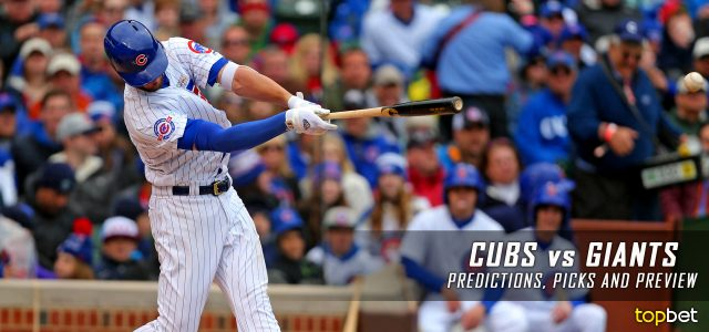Chicago Cubs Vs San Francisco Giants Predictions Picks And Mlb Preview May