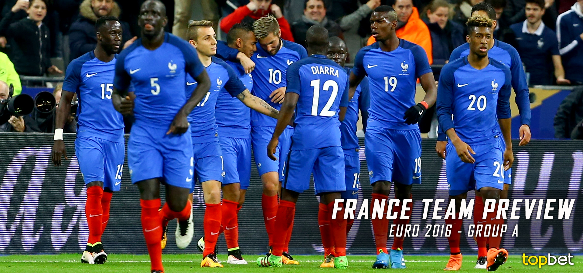 UEFA EURO 2016 Group A – France Team Predictions / Preview