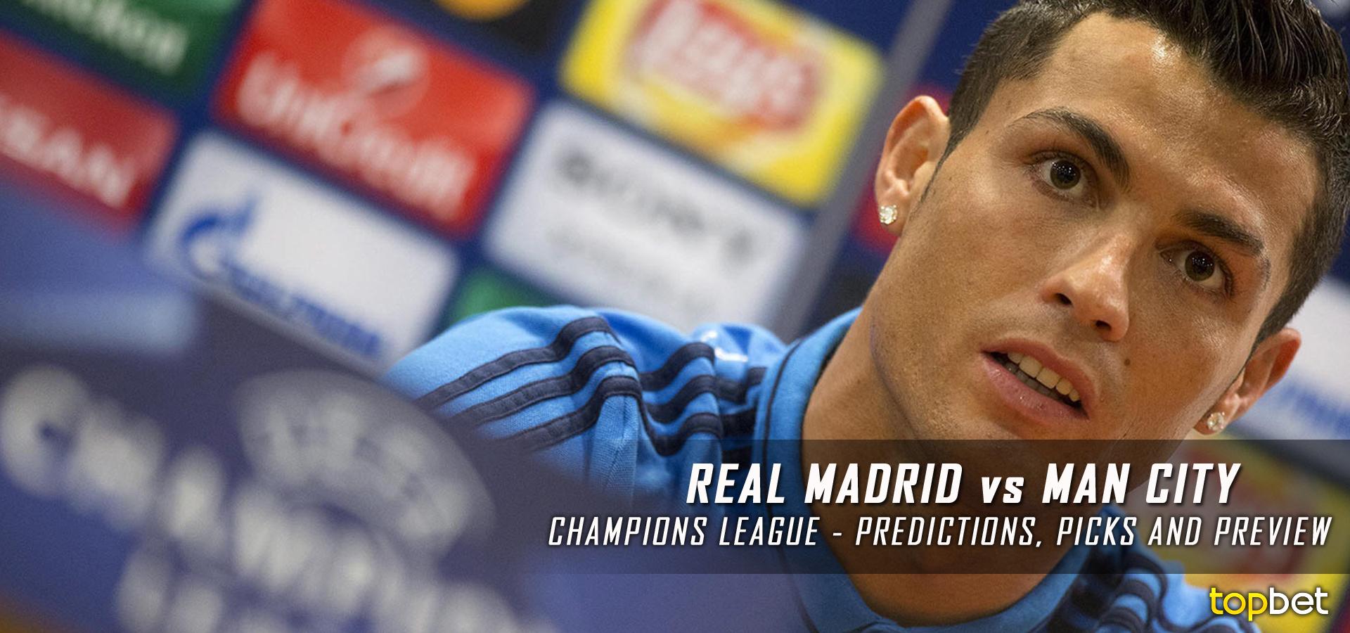 Barcelona Vs Manchester City Logo: Real Madrid Vs Manchester City UEFA Second Leg Predictions