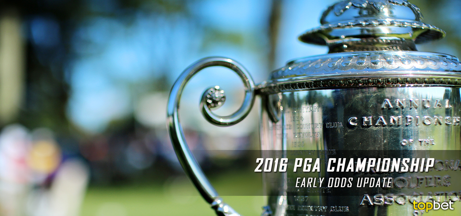 what sports online pga golf betting odds