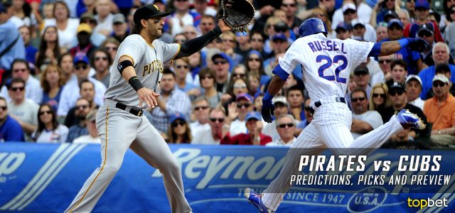 best mlb picks today pirates cubs odds