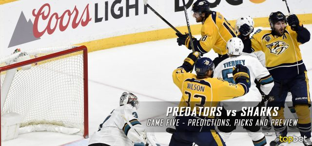 Nashville Predators vs. San Jose Sharks Predictions, Picks and Preview – 2016 Stanley Cup Playoffs – Western Conference Semifinals Game Five – May 7, 2016